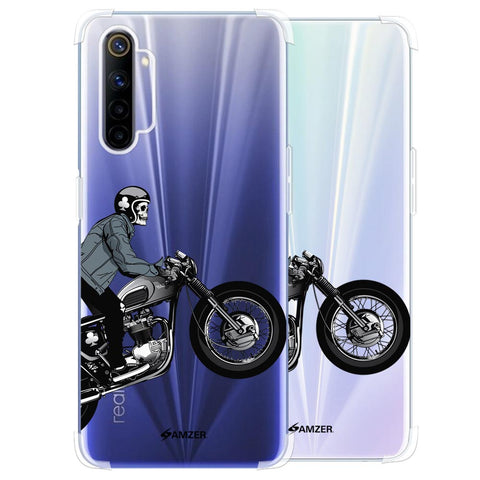 Love for Motorcycles 2 Soft Flex Tpu Case For Realme 6