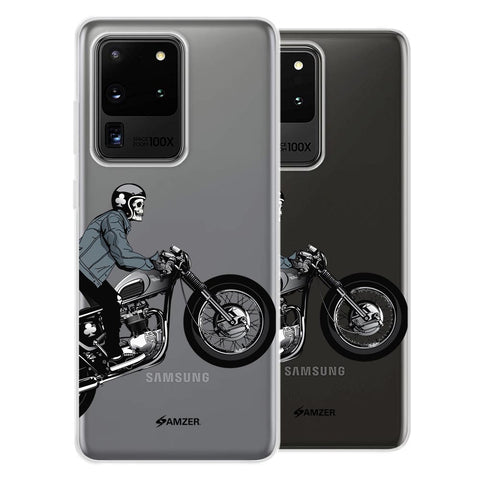 Love for Motorcycles 2 Soft Flex Tpu Case For Samsung Galaxy S20 Ultra