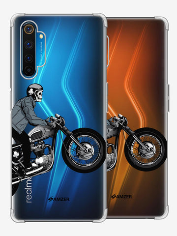 Love for Motorcycles 2 Soft Flex Tpu Case For Realme 6 Pro
