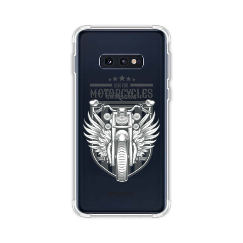Love for Motorcycles 3 Soft Flex Tpu Case For Samsung Galaxy S10e