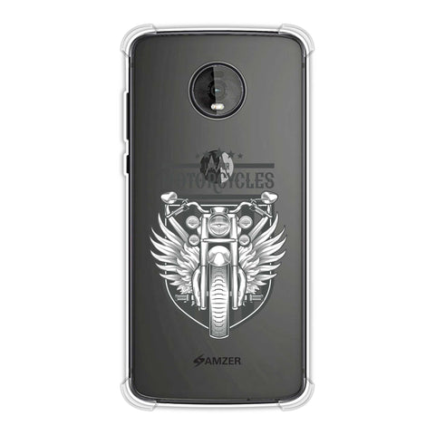 Love for Motorcycles 3 Soft Flex Tpu Case For Motorola Moto Z4