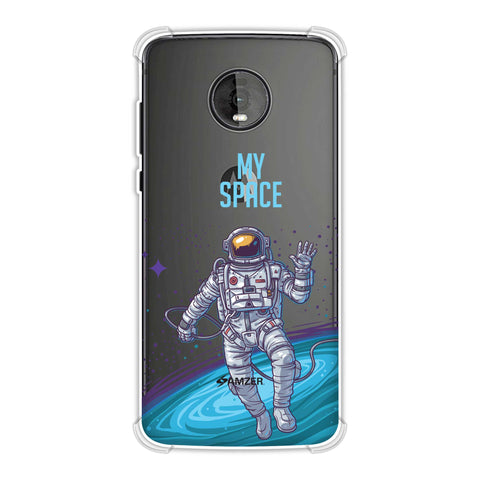 I Need My Space Soft Flex Tpu Case For Motorola Moto Z4