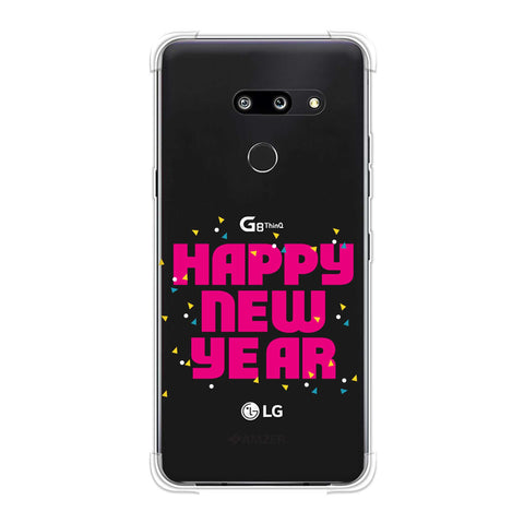 Happy New Year Soft Flex Tpu Case For LG G8 ThinQ