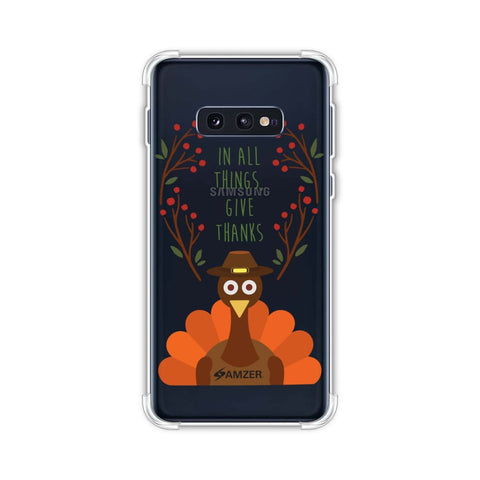 Wise Turkey 1 Soft Flex Tpu Case For Samsung Galaxy S10e