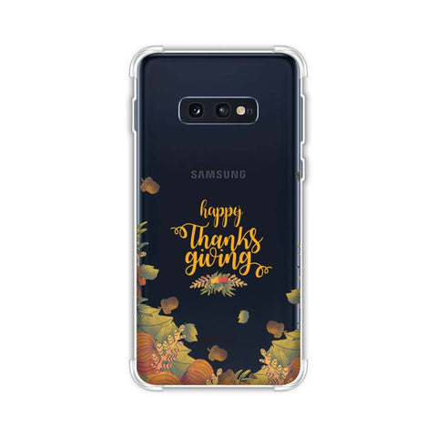 Floral Pattern Soft Flex Tpu Case For Samsung Galaxy S10e