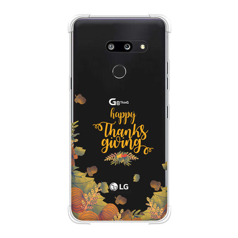 Floral Pattern Soft Flex Tpu Case For LG G8 ThinQ