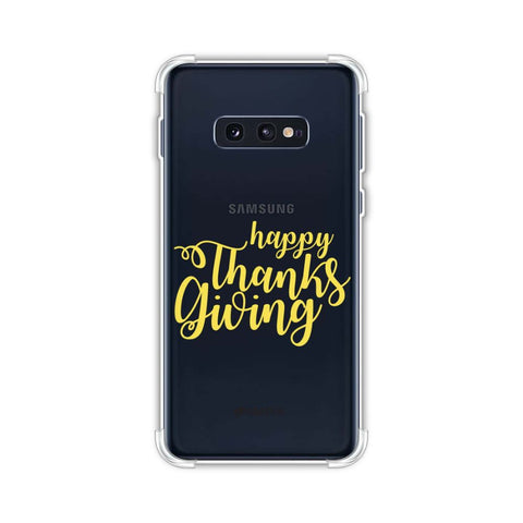 Pumpkin Pattern Soft Flex Tpu Case For Samsung Galaxy S10e