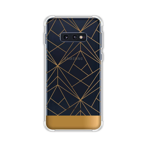 Golden Elegance 2 Soft Flex Tpu Case For Samsung Galaxy S10e