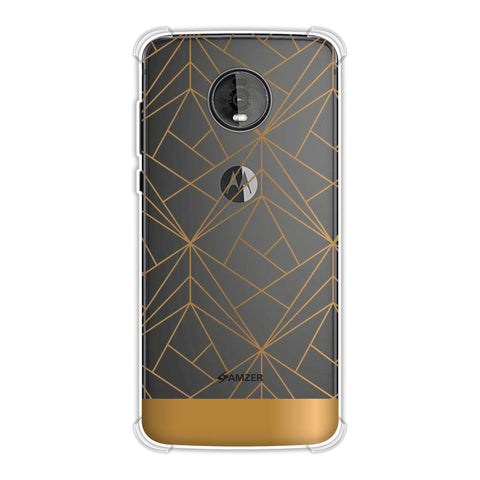 Golden Elegance 2 Soft Flex Tpu Case For Motorola Moto Z4