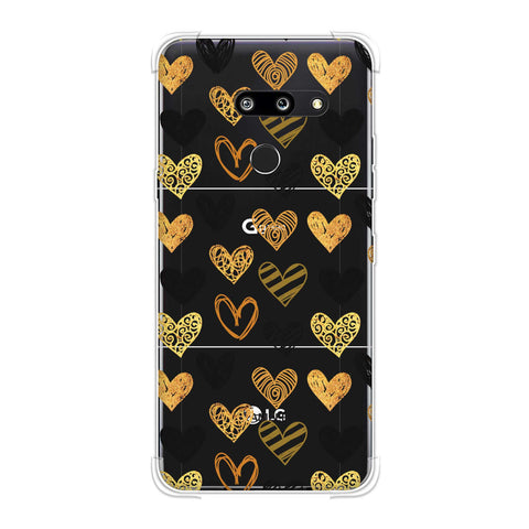 I Heart Hearts Soft Flex Tpu Case For LG G8 ThinQ