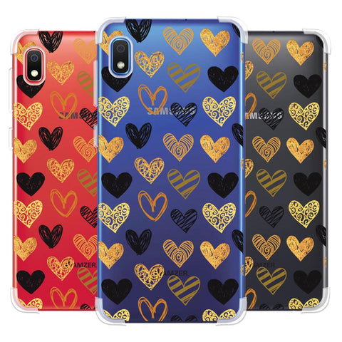 I Heart Hearts Soft Flex Tpu Case For Samsung Galaxy A10e