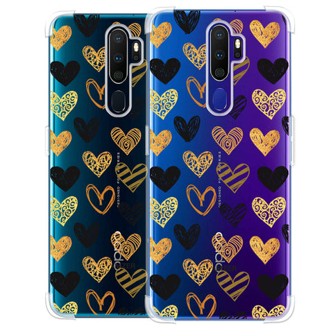 I Heart Hearts Soft Flex Tpu Case For Oppo A9 2020