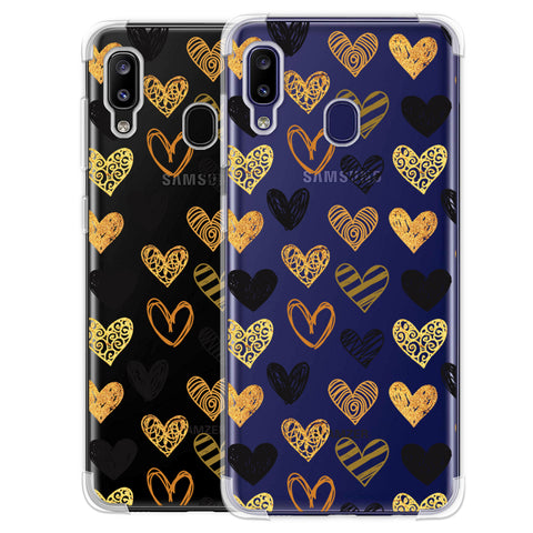 I Heart Hearts Soft Flex Tpu Case For Samsung Galaxy M10s
