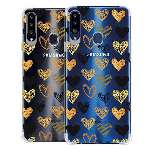 I Heart Hearts Soft Flex Tpu Case For Samsung Galaxy A20s