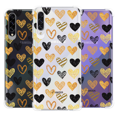I Heart Hearts Soft Flex Tpu Case For Samsung Galaxy A50s