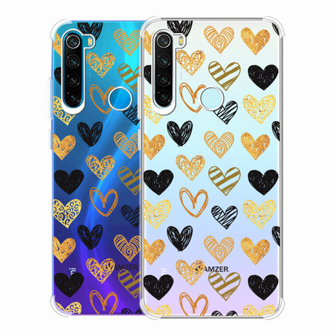 I Heart Hearts Soft Flex Tpu Case For Redmi Note 8