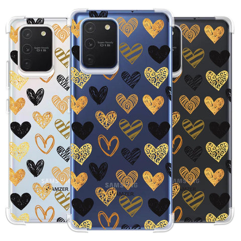 I Heart Hearts Soft Flex Tpu Case For Samsung Galaxy S10 Lite