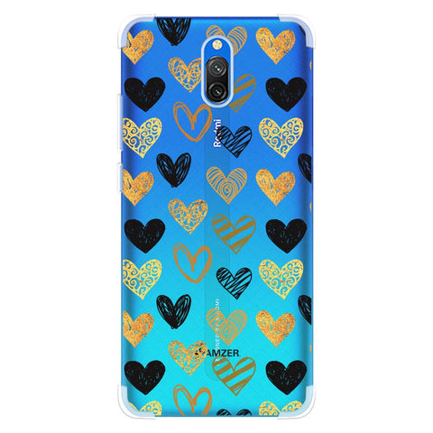 I Heart Hearts Soft Flex Tpu Case For Redmi 8A Dual