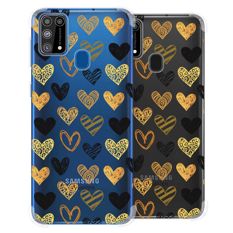 I Heart Hearts Soft Flex Tpu Case For Samsung Galaxy M31