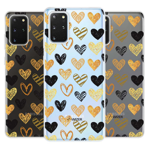 I Heart Hearts Soft Flex Tpu Case For Samsung Galaxy S20+