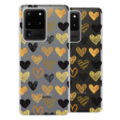 I Heart Hearts Soft Flex Tpu Case For Samsung Galaxy S20 Ultra