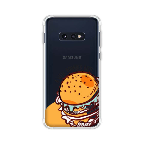 Burger Soft Flex Tpu Case For Samsung Galaxy S10e