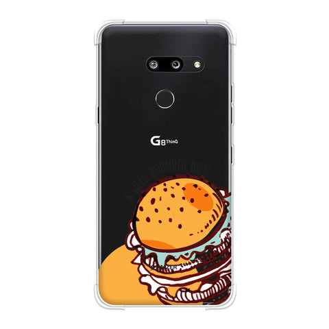 Burger Soft Flex Tpu Case For LG G8 ThinQ