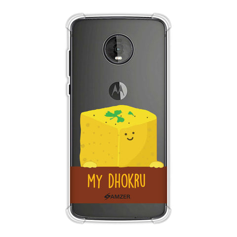 My Dhokru Soft Flex Tpu Case For Motorola Moto Z4