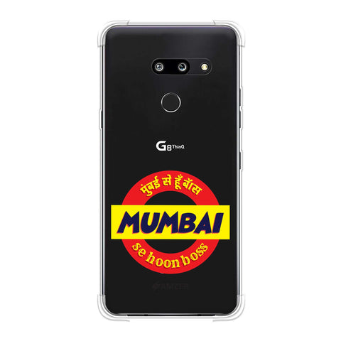 Mumbai Se Hu Boss Soft Flex Tpu Case For LG G8 ThinQ