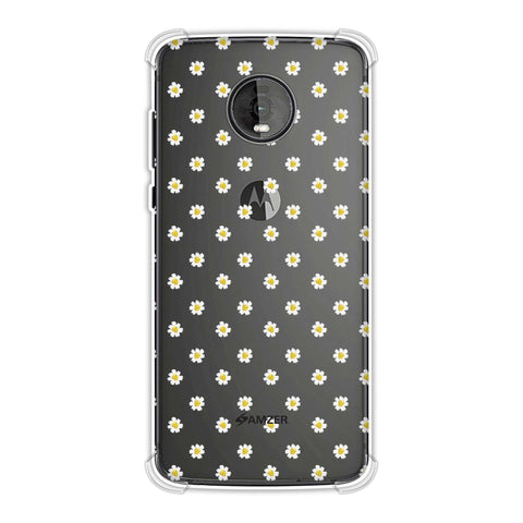 Daisies Soft Flex Tpu Case For Motorola Moto Z4
