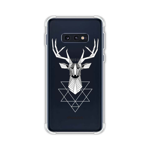 Geometric Deer Soft Flex Tpu Case For Samsung Galaxy S10e