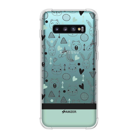 Unicorns Soft Flex Tpu Case For Samsung Galaxy S10 Plus
