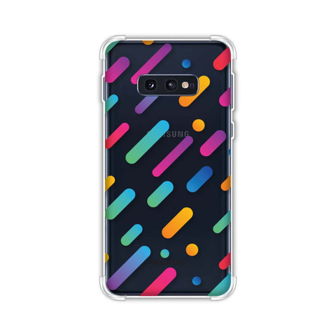 It's Raining Gradients! Soft Flex Tpu Case For Samsung Galaxy S10e