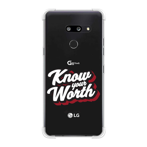 Know Your Worth Soft Flex Tpu Case For LG G8 ThinQ