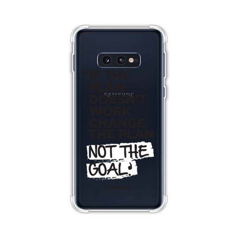 If The Plan Doesn't Work.. Soft Flex Tpu Case For Samsung Galaxy S10e