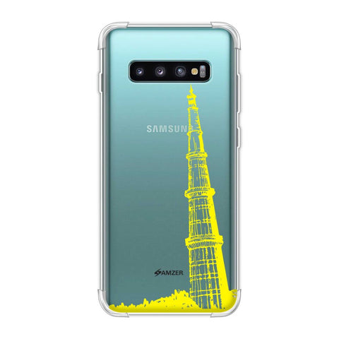 Qutub Minar Soft Flex Tpu Case For Samsung Galaxy S10 Plus