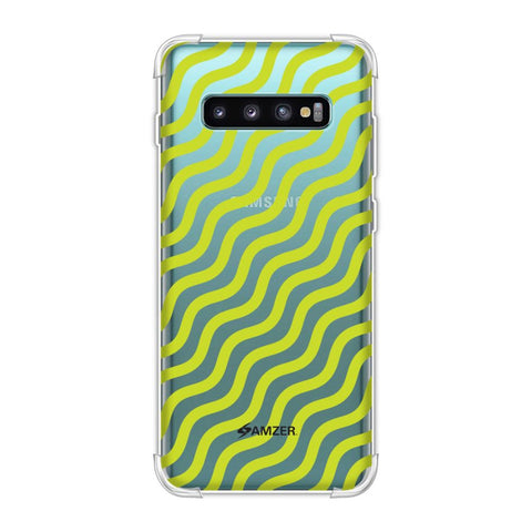 Waves Soft Flex Tpu Case For Samsung Galaxy S10 Plus