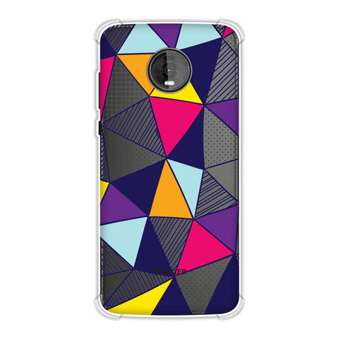 Polygon Fun 3 Soft Flex Tpu Case For Motorola Moto Z4