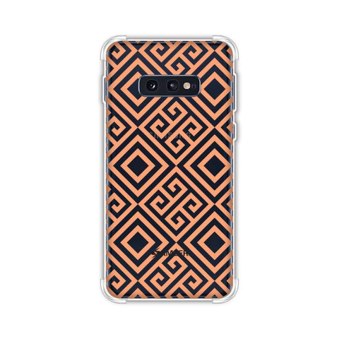 Falling Squares Soft Flex Tpu Case For Samsung Galaxy S10e