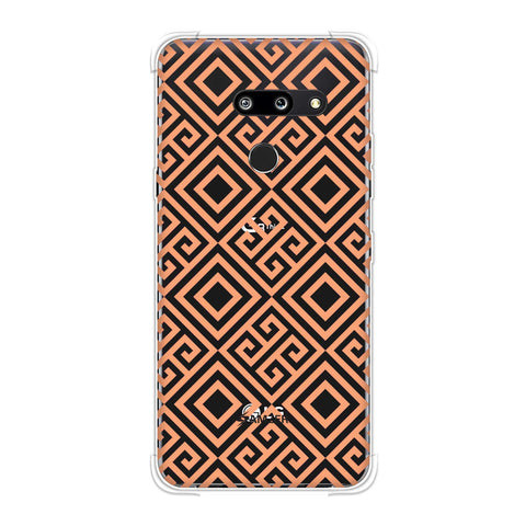 Falling Squares Soft Flex Tpu Case For LG G8 ThinQ