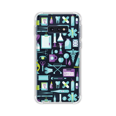 Doctor Pattern 1 Soft Flex Tpu Case For Samsung Galaxy S10e