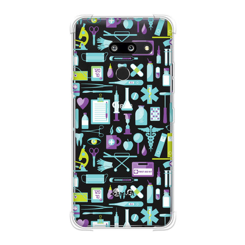 Doctor Pattern 1 Soft Flex Tpu Case For LG G8 ThinQ