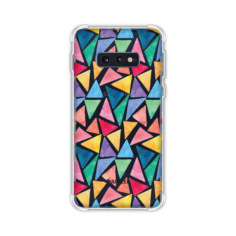 Bold Shapes Soft Flex Tpu Case For Samsung Galaxy S10e