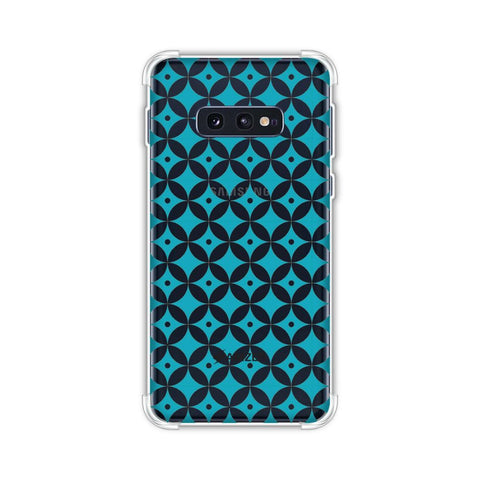 Overlapped Circles 2 Soft Flex Tpu Case For Samsung Galaxy S10e