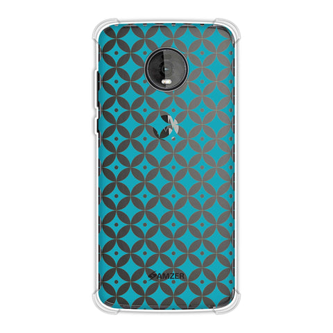 Overlapped Circles 2 Soft Flex Tpu Case For Motorola Moto Z4