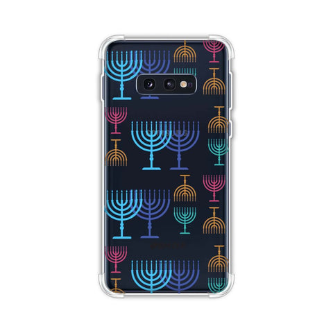 Hanukkah Pattern 2 Soft Flex Tpu Case For Samsung Galaxy S10e