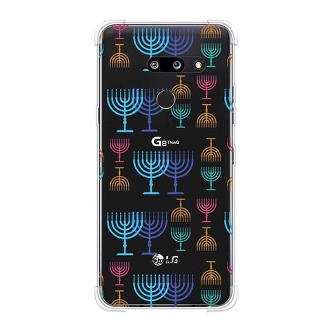 Hanukkah Pattern 2 Soft Flex Tpu Case For LG G8 ThinQ