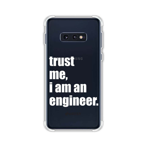 Proud To Be A Engineer 1 Soft Flex Tpu Case For Samsung Galaxy S10e
