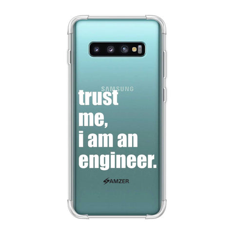 Proud To Be A Engineer 1 Soft Flex Tpu Case For Samsung Galaxy S10 Plus
