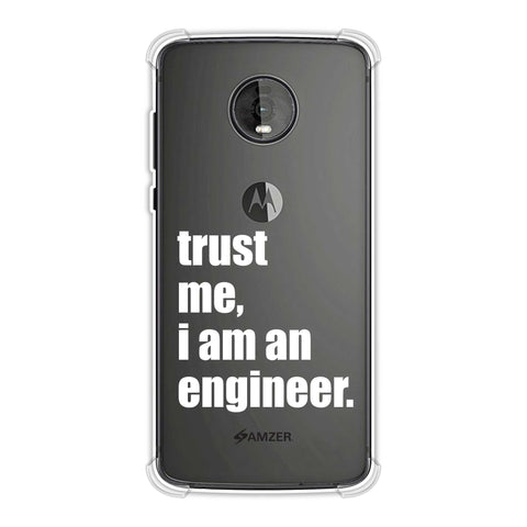 Proud To Be A Engineer 1 Soft Flex Tpu Case For Motorola Moto Z4